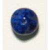 Glass Bead 10mm Nuggets Lapis Matrix Strung